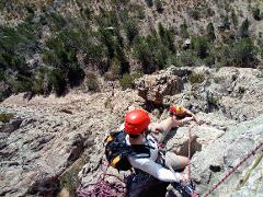Mount Arapiles - Multi-pitch climbing course