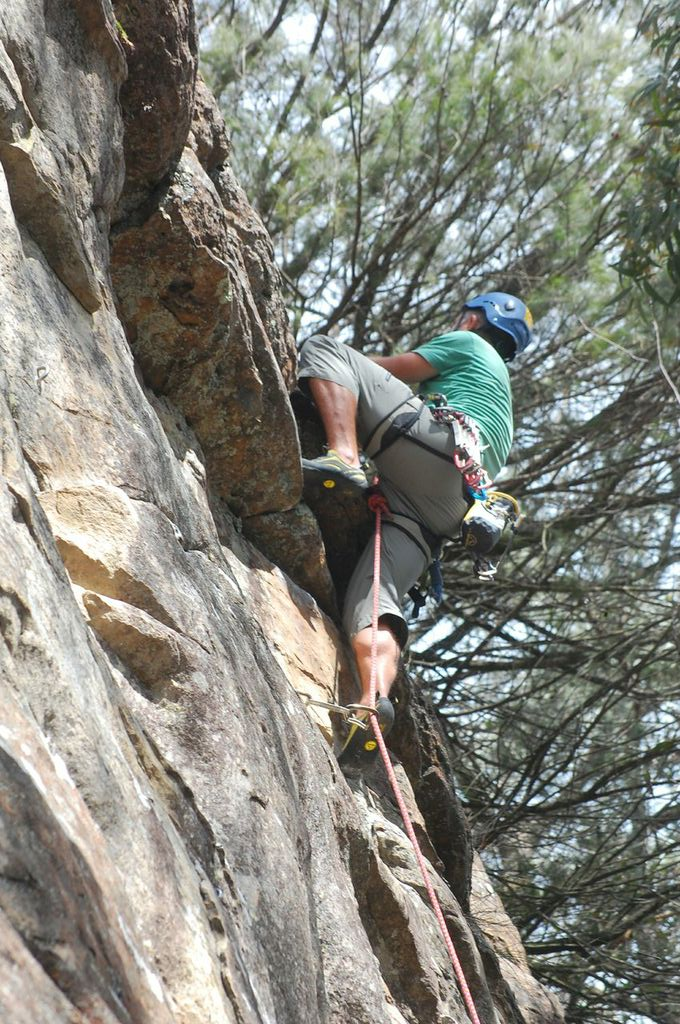 Learn to Lead at Climb Fit, St Leonards
