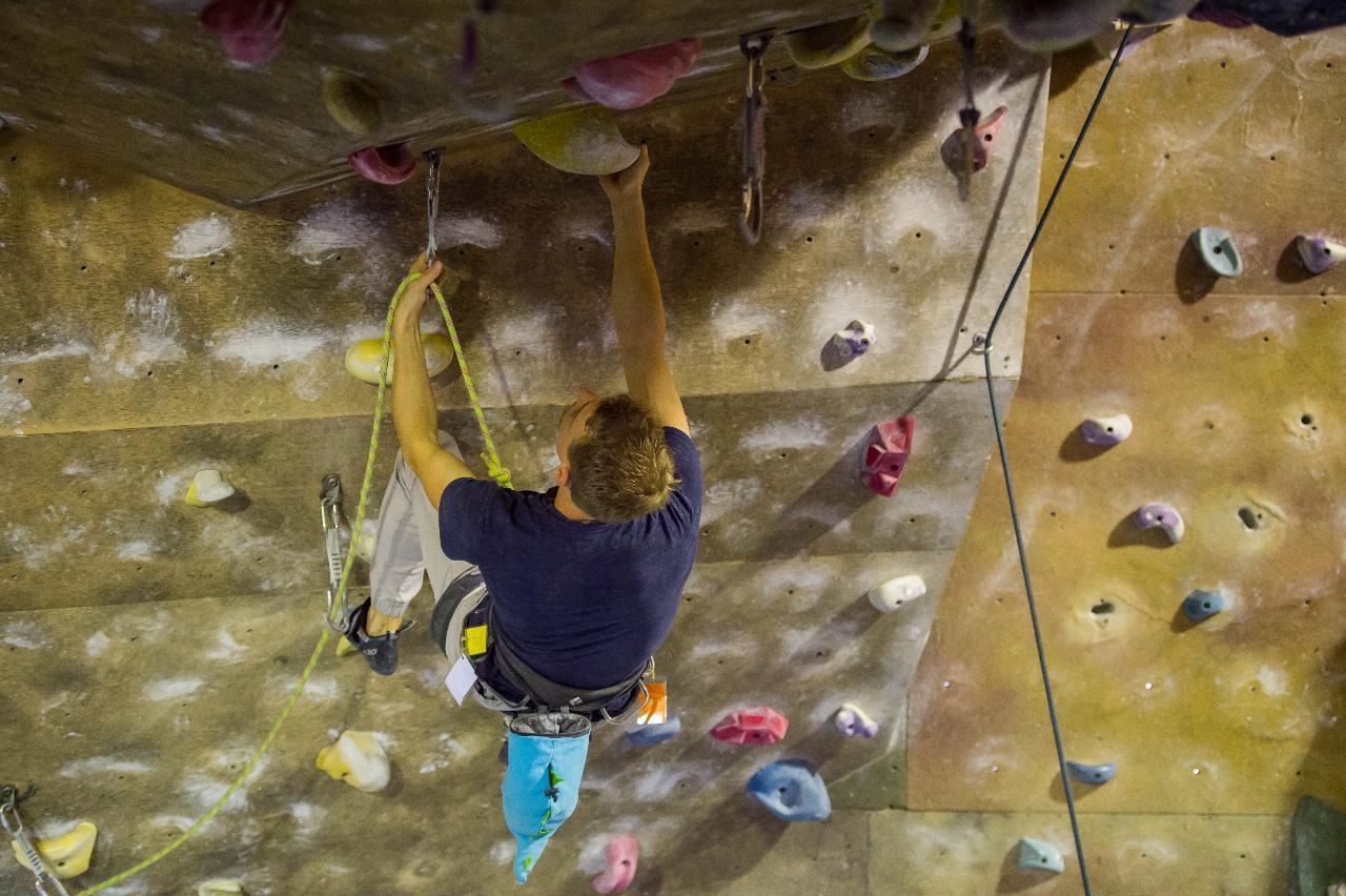 TIO at Climb Fit - Learn to Lead Climb
