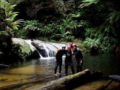 Canyoning - Introductory - Sheep Dip & Rocky Creek Canyon
