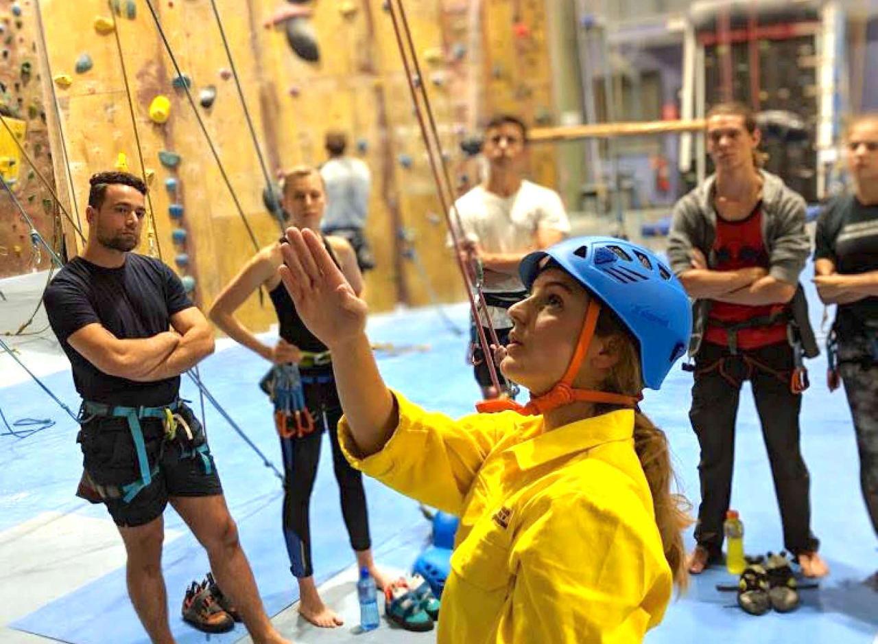 TIO at Kirrawee - Learn to Lead Climb