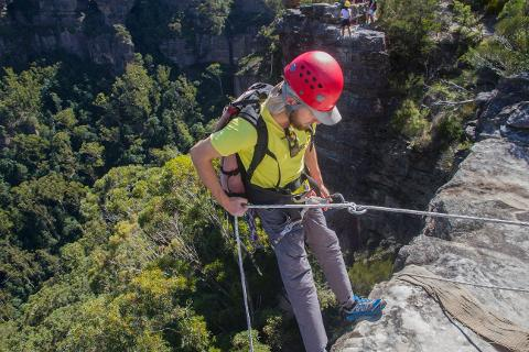 Abseiling 3 - Advanced Abseiling Course