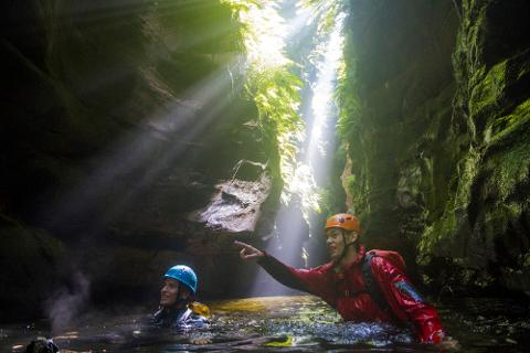 Private Guided Canyoning Day