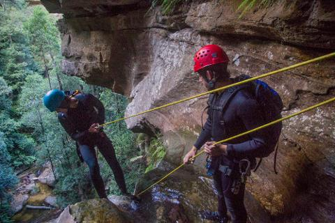 Certificate III - Guide Single Pitch Canyoning