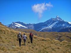 Whare Kea Chalet - Guided Heli-hike with picnic lunch