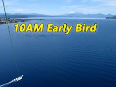 10:00 AM Early Bird Discounted Flights - 1st Boat