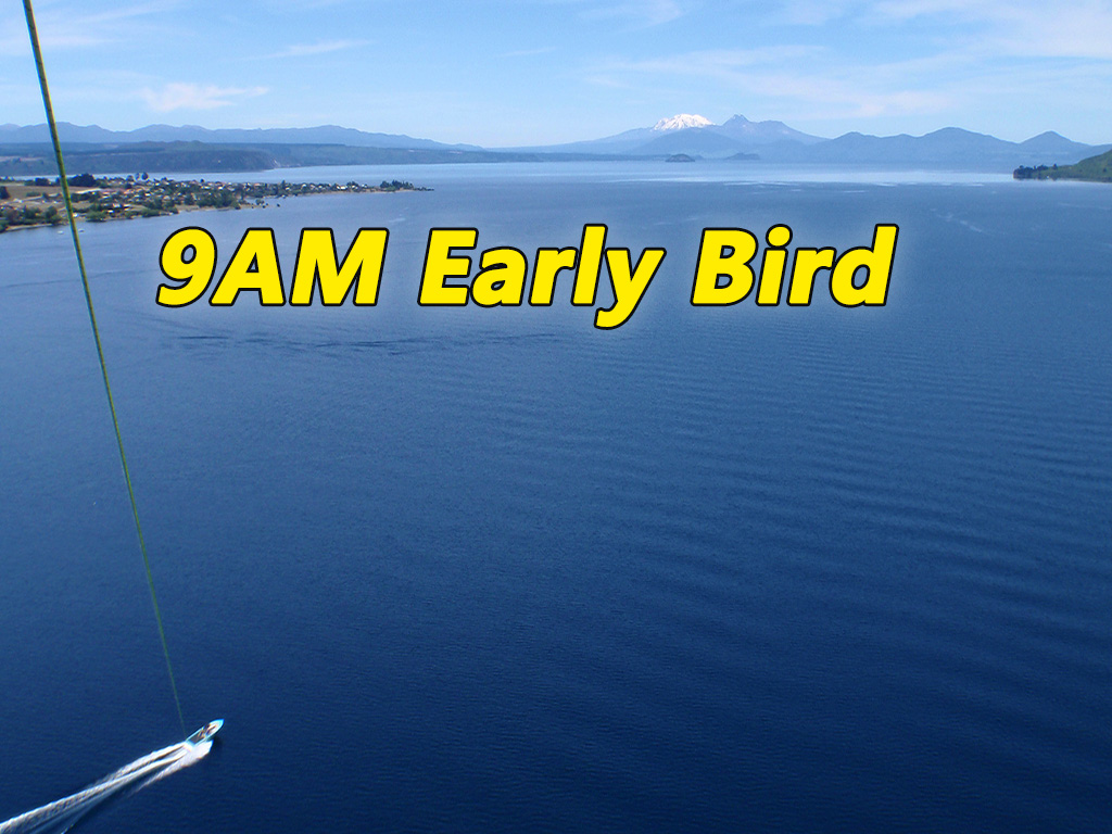 Early Bird Discounted Flights 9AM