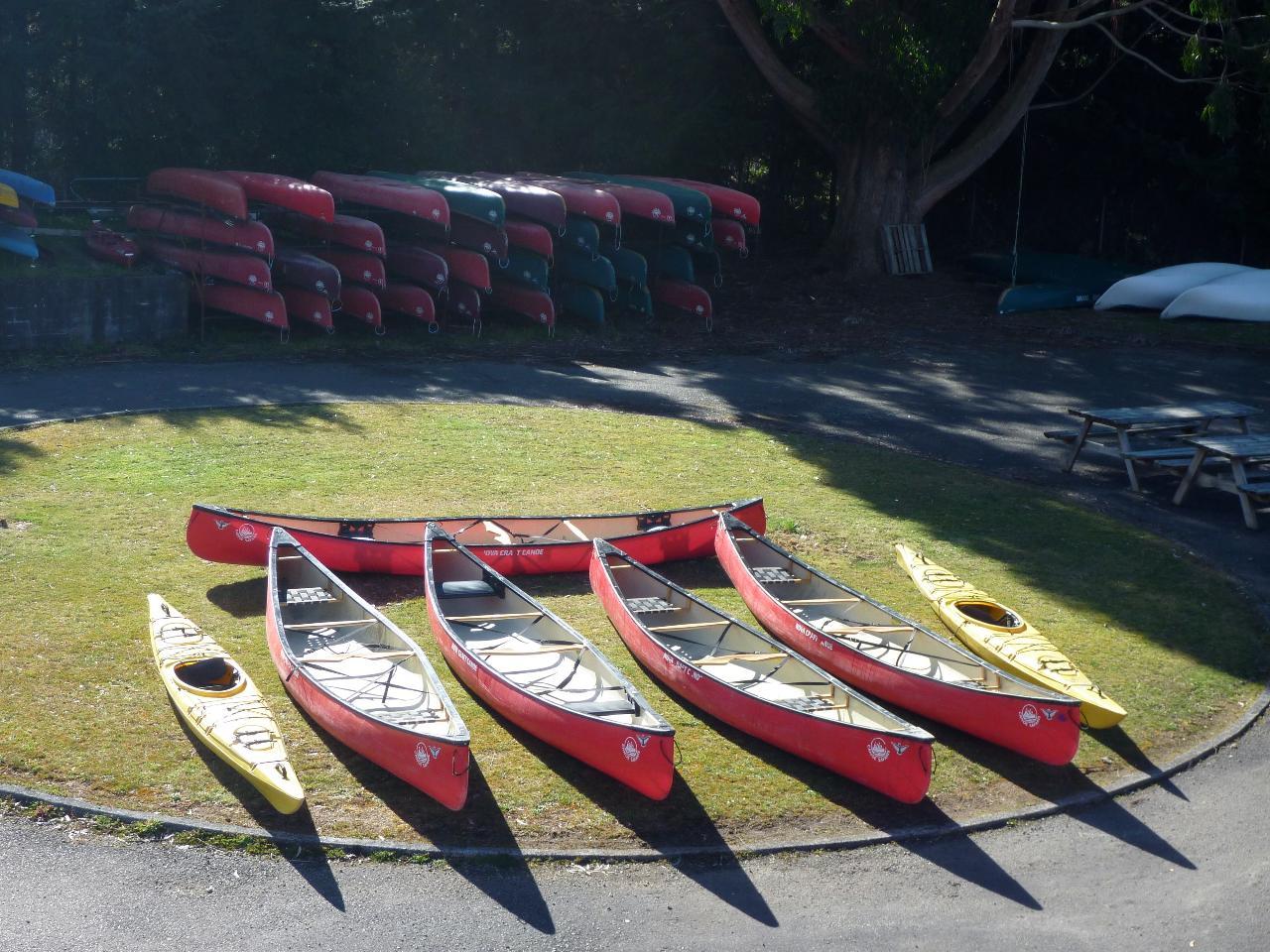 5 Day Whanganui River Canoe Hire