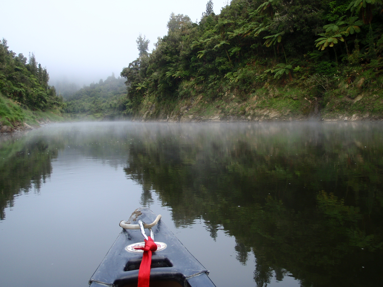 5 Day Guided Whanganui National Park Canoe