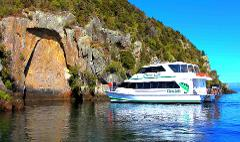 10.30am SCENIC Māori Rock Carvings Boat Cruise
