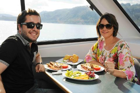 Gift Voucher - 10.30am Sunday Brunch Scenic Cruise to the Maori Rock Carvings