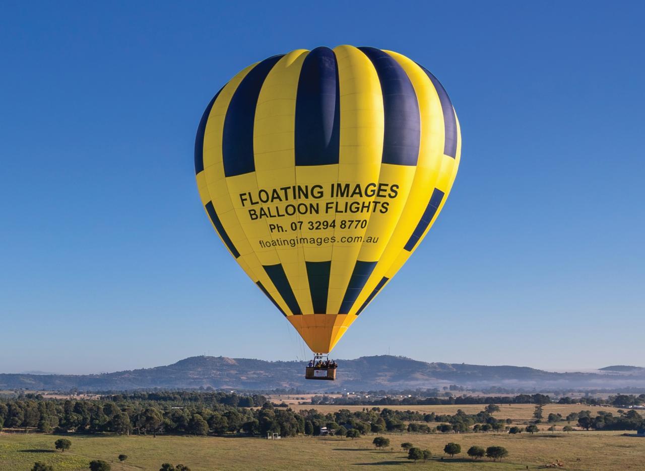 1. Greater Brisbane Scenic Hot Air Balloon Flight Package - 1 Hour Flight, Breakfast & Self Drive