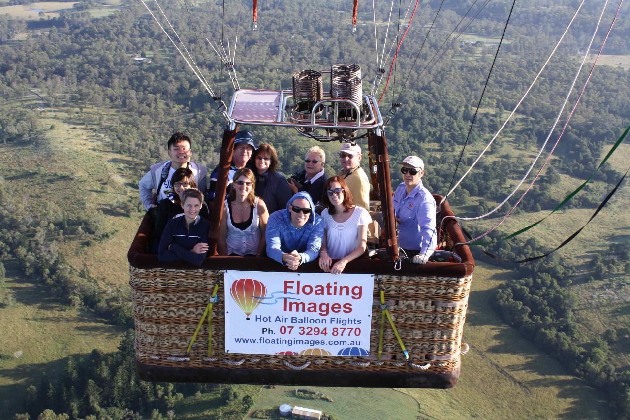 3. Greater Brisbane Scenic Hot Air Balloon Flight Package - 1 Hour Flight, Breakfast ADD Brisbane CBD transfers
