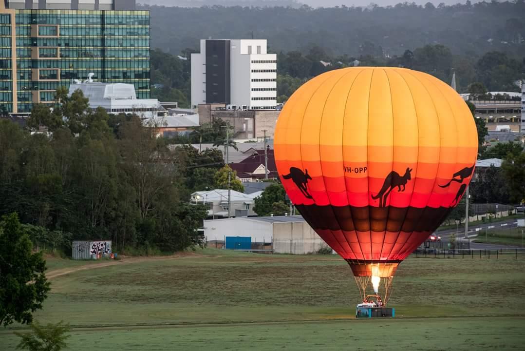 4. Greater Brisbane Scenic Hot Air Balloon Flight for 2 People, 1 Hour Flight, Breakfast & Self Drive