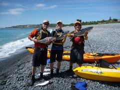 Guided Kayak Fishing Half Day