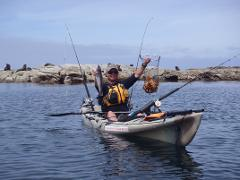Guided Private Kayak Fishing Full Day