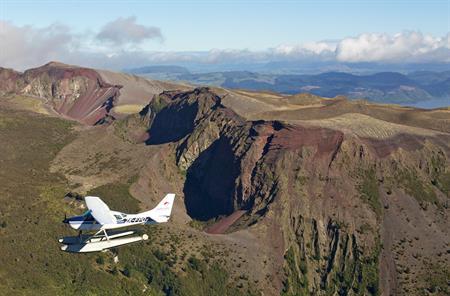 Mt Tarawera Float Plane/Drive Combo