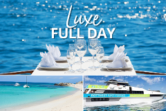 Full-Day Package: Luxe Island Seafood Cruise & Ferry Transfers from HILLARYS