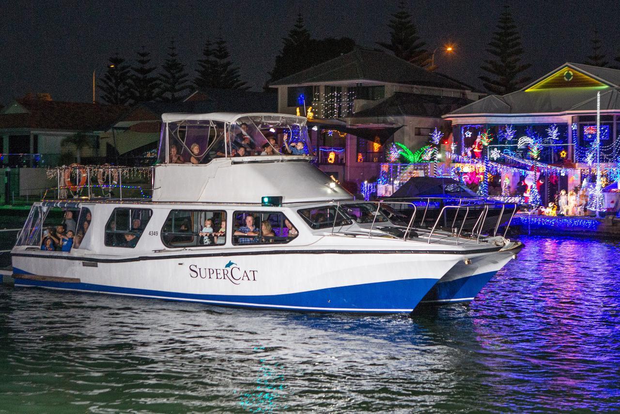 Christmas Lights Cruise - Supercat 9pm