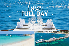 Full-Day Package: Luxe Island Seafood Cruise & Ferry Transfers from PERTH