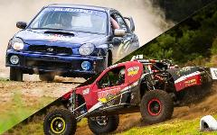 Ipswich - V8 Race Buggy & WRX Rally Car - Combo 1 **NEW PACKAGE** **FREE GO-PRO RECORDING**