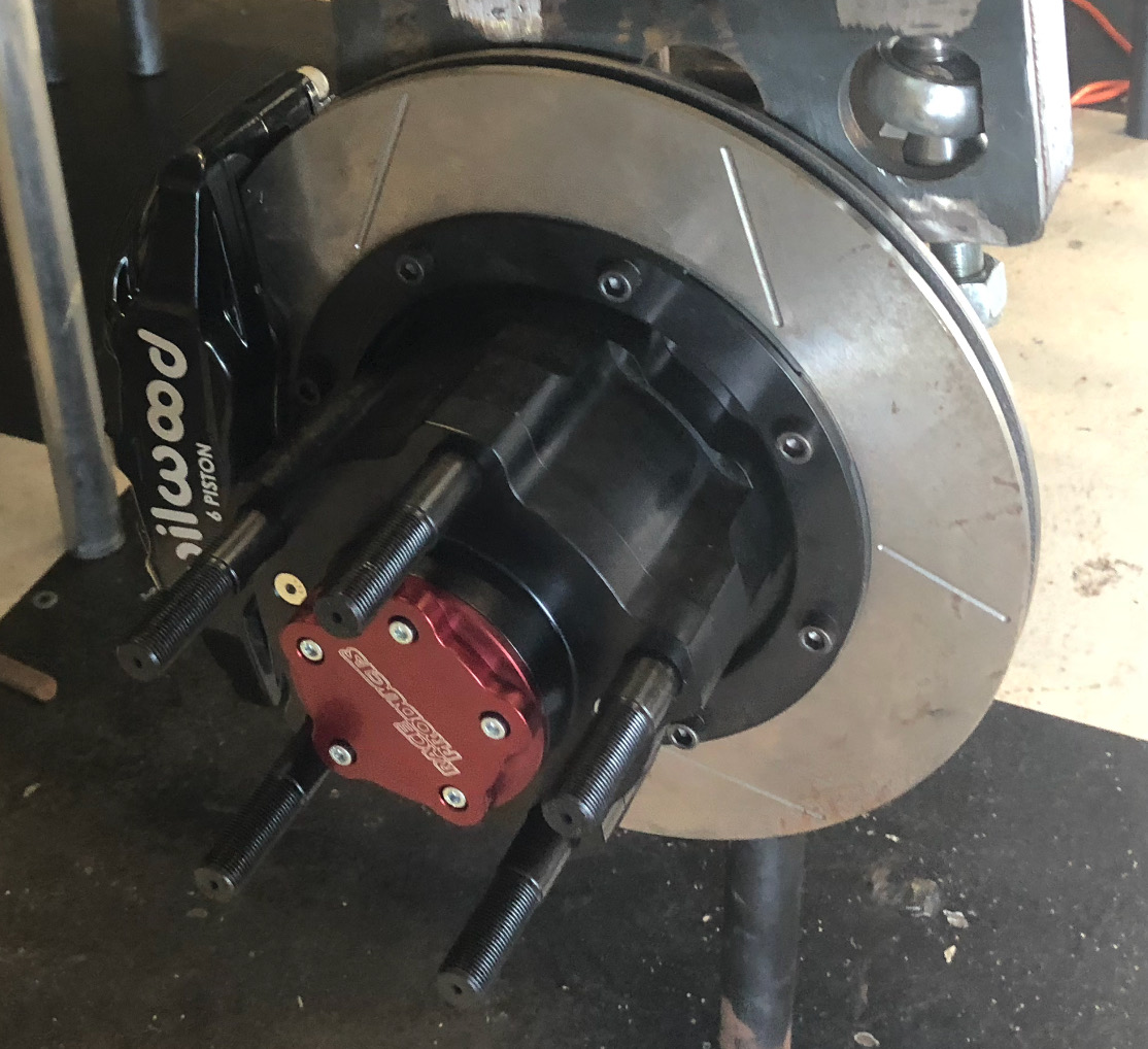 RUSH TRUCK Front hub and brake package - Stage 8