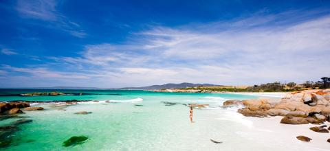 Bay of Fires and Mt William National Park 4 day walking holiday Tasmania Australia