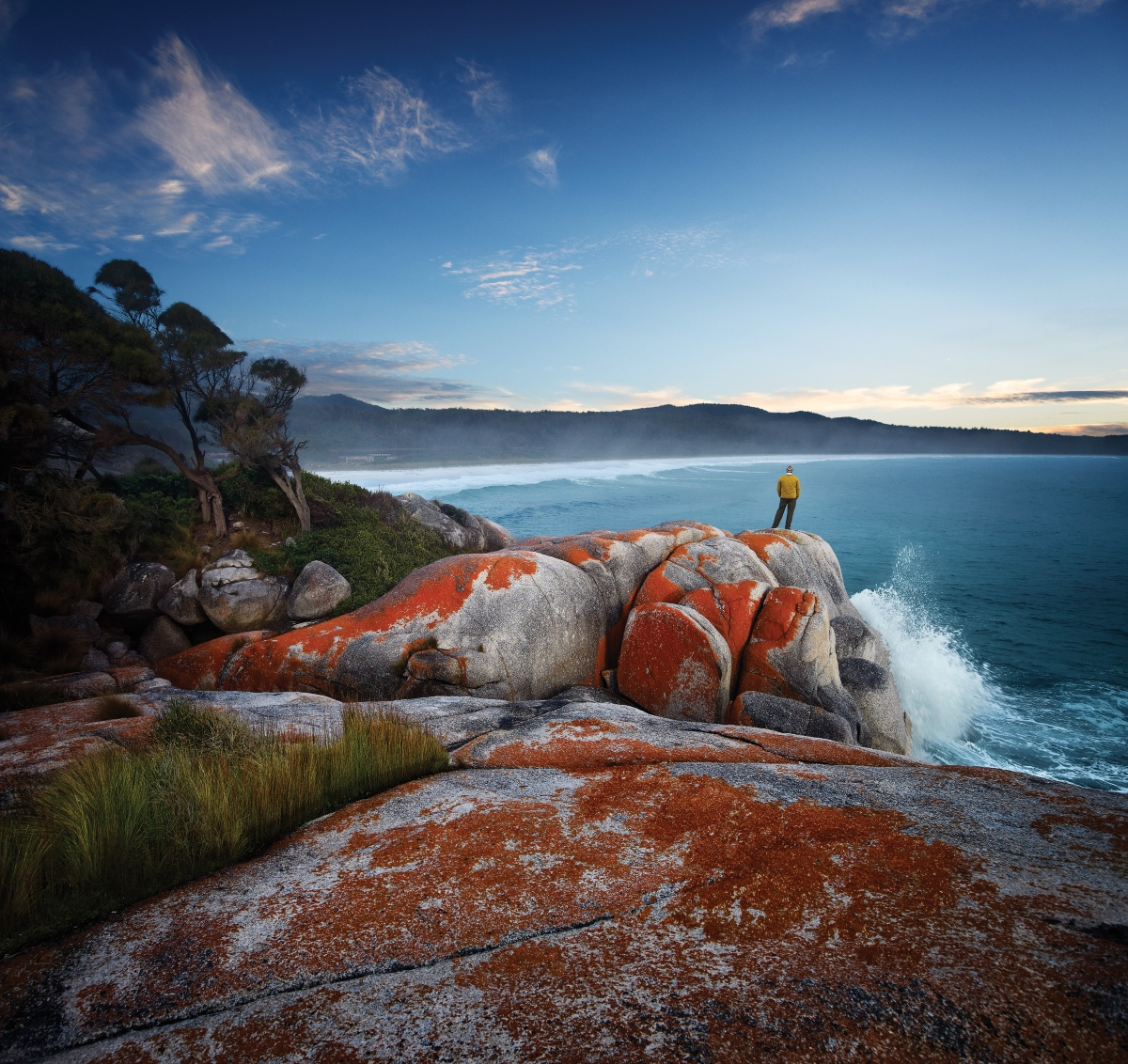 Bay of Fires and Mt William National Park 4 day walking holiday