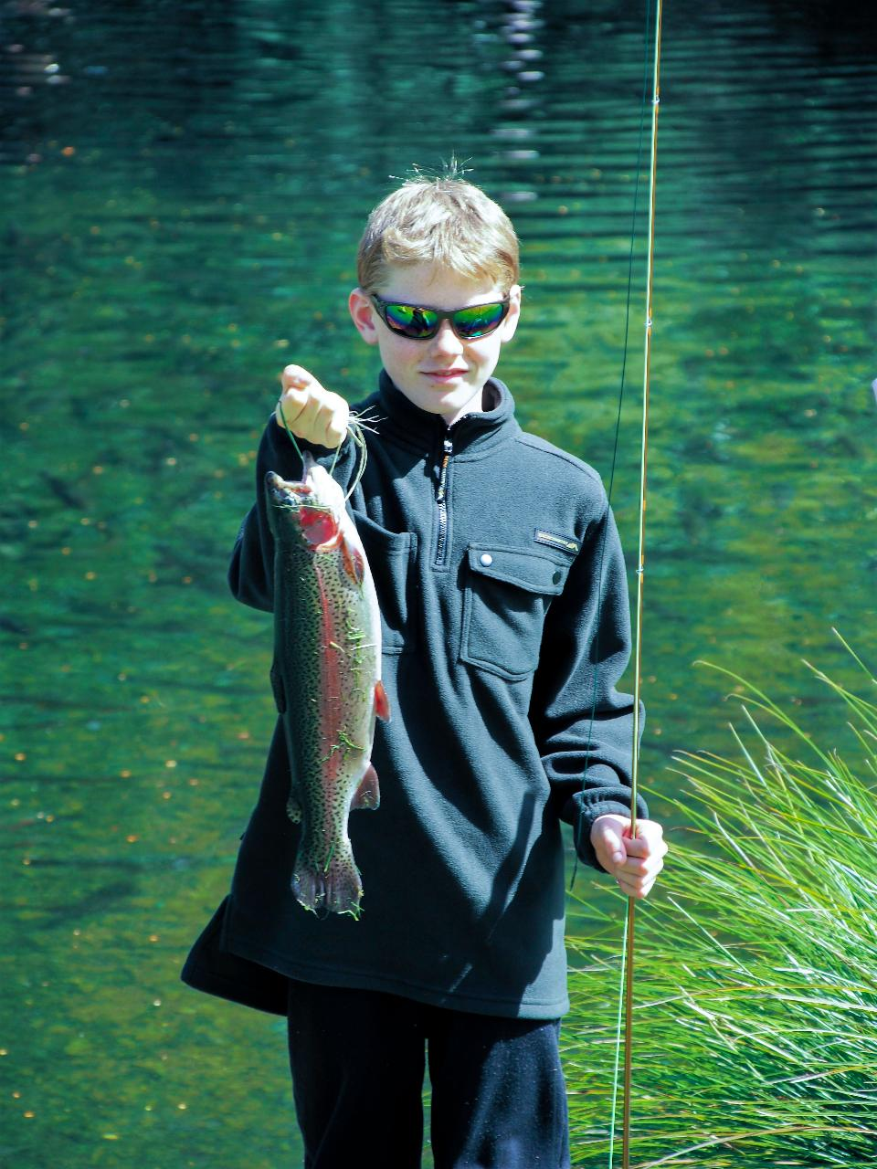 Tongariro Family Fun and National Trout Centre Kids Fishing Experience