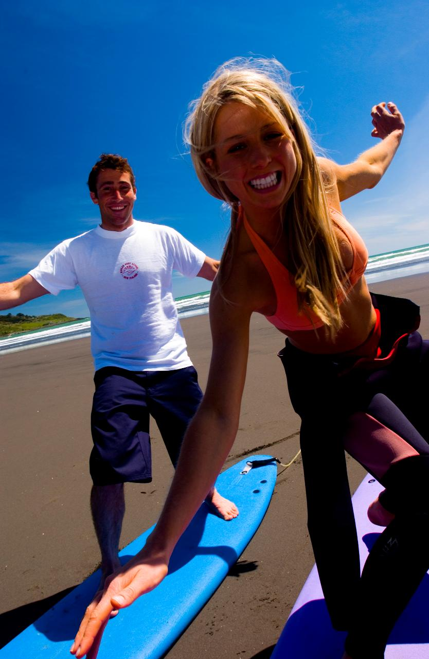 Surf Lesson & Board Hire Package