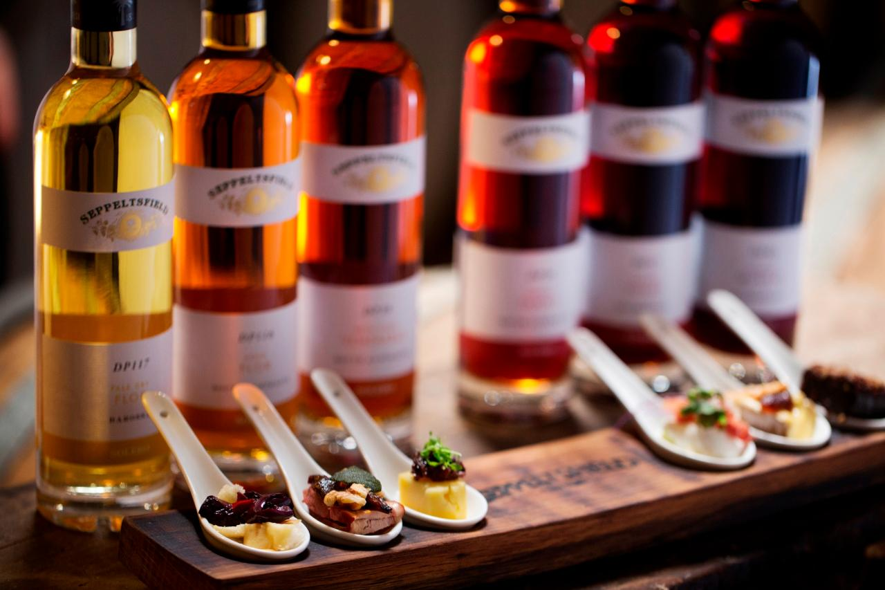 Fortified & Canape Tasting Experience