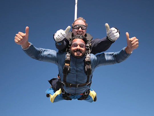 Extreme Weekender (up to an amazing 15,000ft)