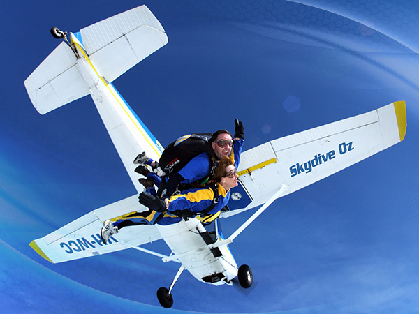 14,000ft Tandem Skydive - Scone NSW