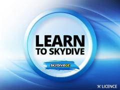 Learn to Skydive - 'A' Licence Course (Bronze)