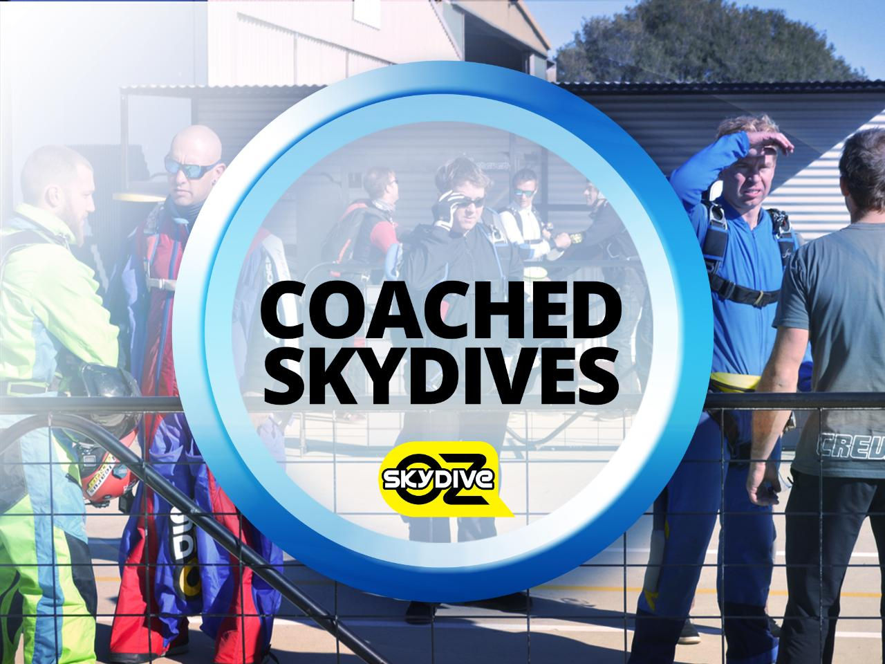 Coached Skydive Deposit