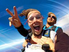 Night Tandem 10,000ft Skydive - Moruya