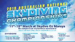 2019 Australian National Skydiving Championships - Camera Flyer Only Registration
