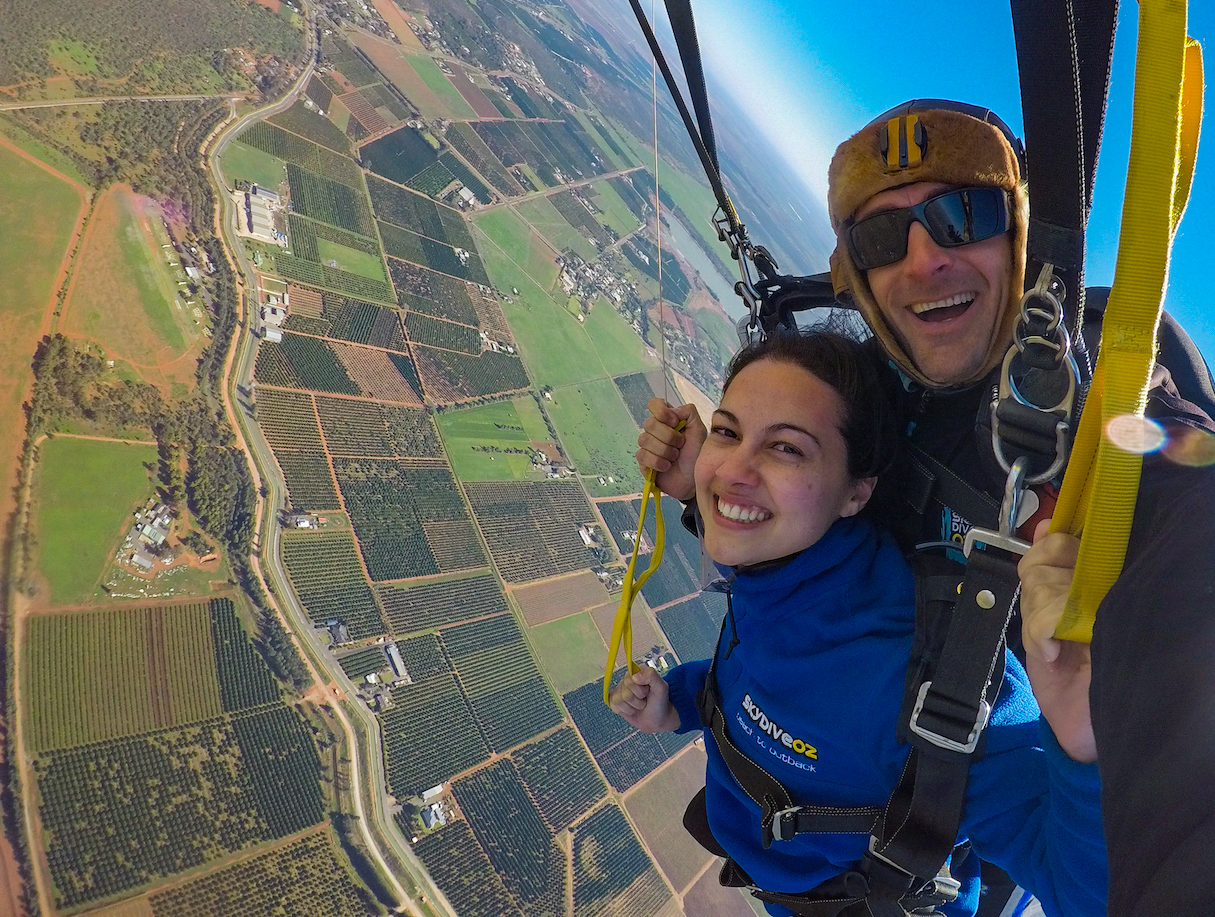 Country NSW Tandem Skydive - Lightning Ridge