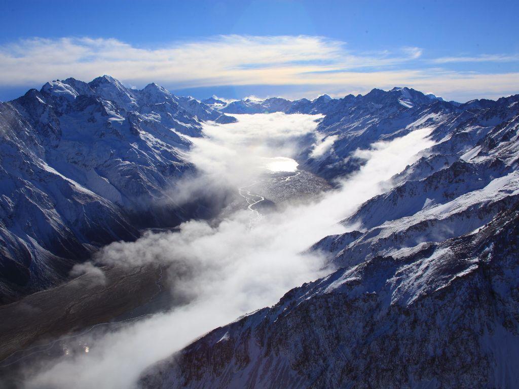 Mount Cook, Fox & Franz Spectacular