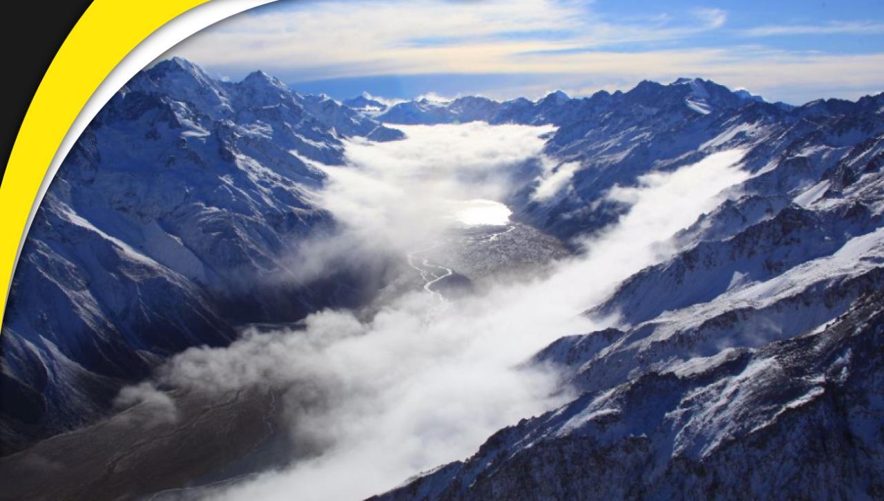 Mt Cook, Fox & Franz Spectacular