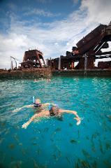 1 Day Moreton Island Snorkel Kayak & Sandboard Adventure tour