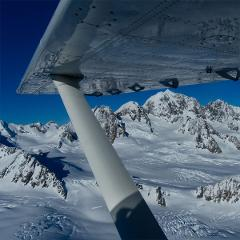 Mt. Cook & The Glaciers Scenic Flight with Landing