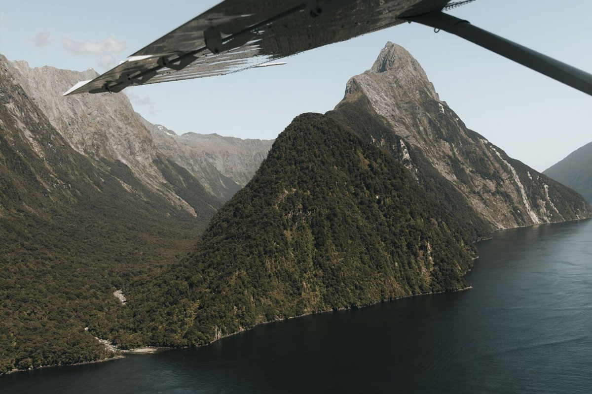 Milford Sound Scenic Flyover Special