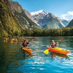 Milford Sound Fly | Cruise + Kayak | Fly
