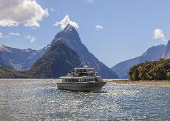 Winter: Milford Sound and Glaciers:  Fly/Mitre Peak Cruise/Fly