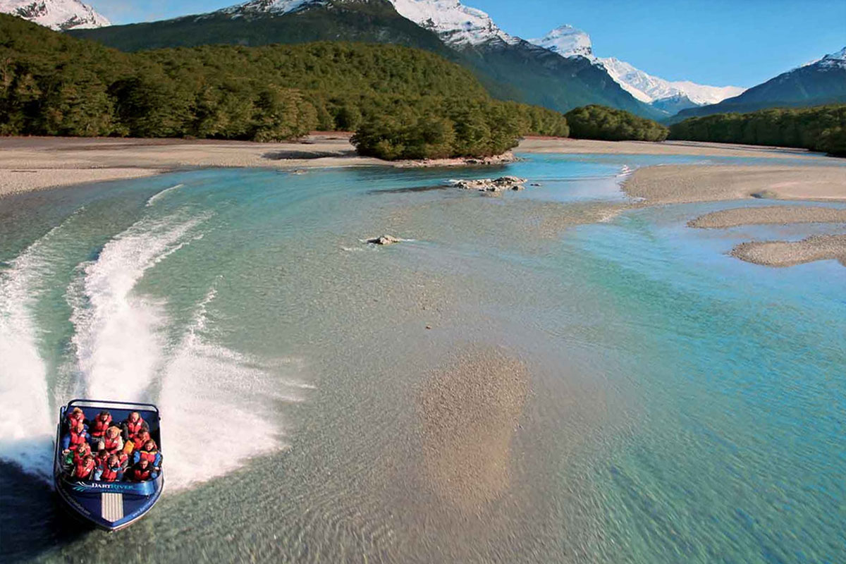 Milford Sound Fly | Cruise | Fly + Dart River Jet