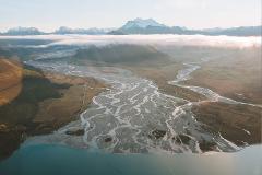 Earnslaw Burn + The Glaciers