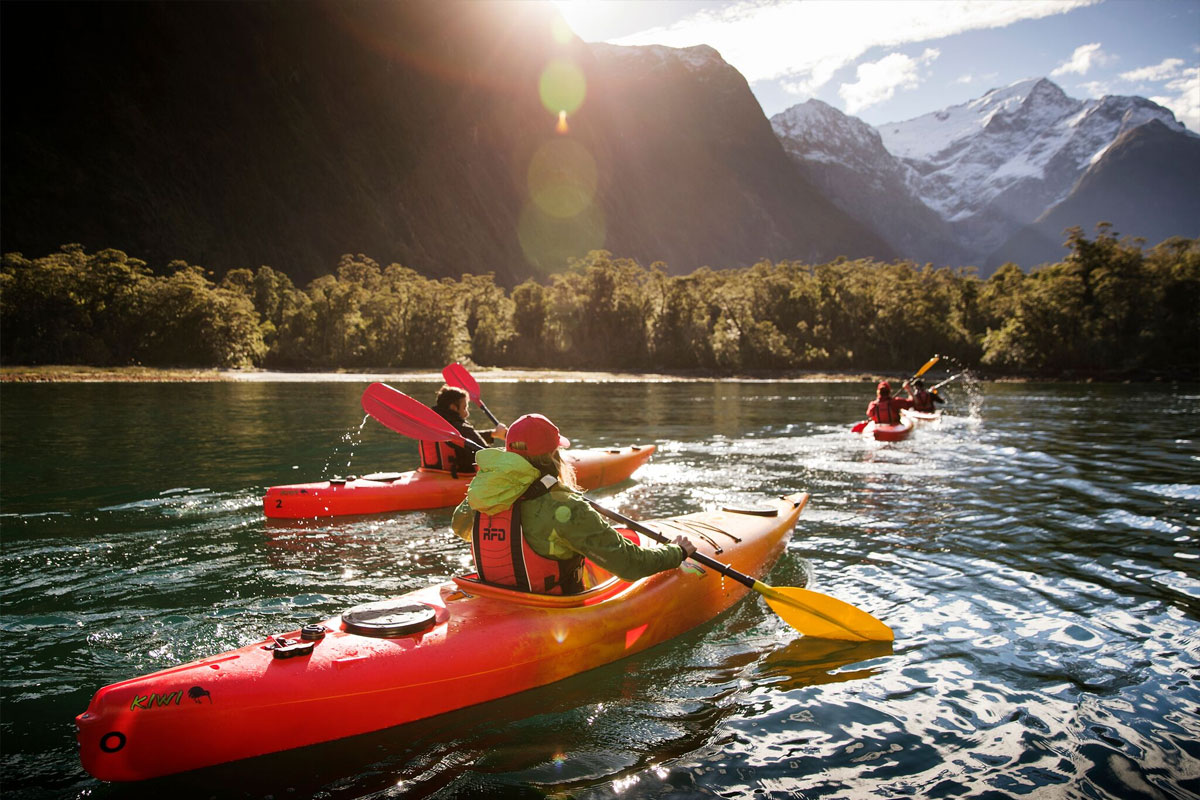 Milford Sound Fly   Cruise + Kayak   Fly