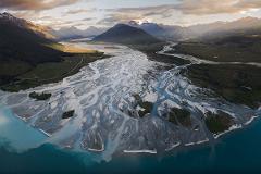 Earnslaw Burn and Glaciers