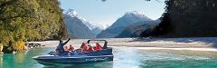 Winter: Milford Saver (Dart River Jet+Fly-Cruise-Fly)